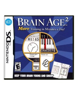 BRAIN AGE 2 - MORE TRAINING IN MINUTE A DAY - DS