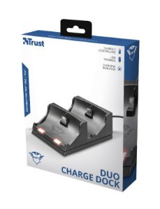 DUO CHARGE DOCK TRUST GXT235 PARA PS4