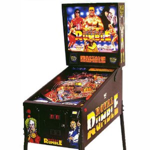 PINBALL WWF ROYAL RUMBLE