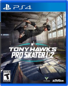 TONY HAWK's PRO SKATER 1+2 REMASTERED - PS4