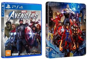 MARVEL's AVENGERS COM STEELBOOK - PS4