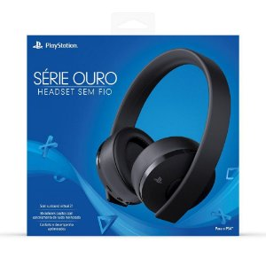 HEADSET PLAYSTATION 4 SÉRIE OURO