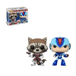 POP MARVEL VS CAPCOM: ROCKET VS MEGA MAN X (2 PACK)