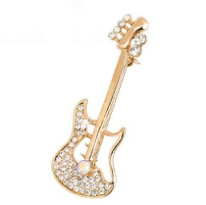Broche De Alfinete Guitarra