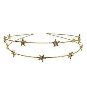 Tiara Dupla Estrelas