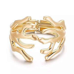 Bracelete Ramos Dourado
