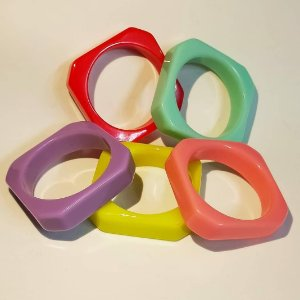 Bracelete Cores Quadrado