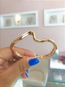 Bracelete Fino Voltinhas