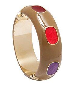 Bracelete Instante M Marrom