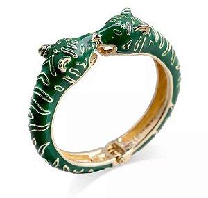 Bracelete Leopardo Resinado