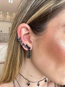 Brinco Ear Cuff Borboletas