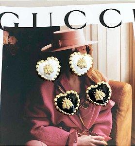 Brinco Coração Gucci