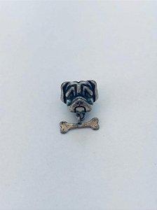 Berloque Bulldog Prata 925
