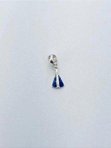 Berloque Nossa Senhora Aparecida Manto Azul
