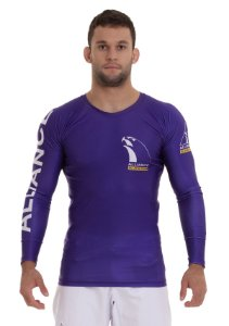RASH GUARD ALLIANCE VULKAN ROXA 2021