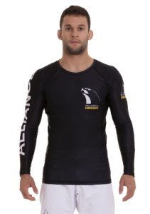 RASH GUARD ALLIANCE VULKAN PRETA