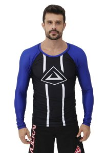 RASH GUARD VULKAN CHALLENGE ML AZUL