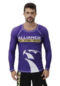 RASH GUARD ALLIANCE VULKAN ROXA