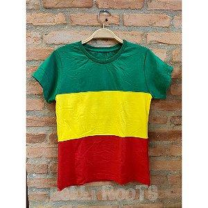 Camiseta baby look Reggae - Belli Roots