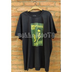 Camiseta Marijuana PRETA - Belli Roots