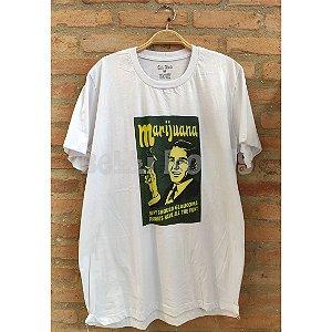 Camiseta Marijuana BRANCA - Belli Roots