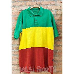 Camiseta Polo Reggae - VERDE
