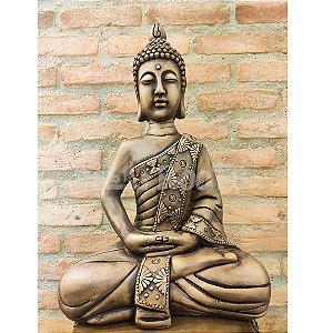 Escultura Buda Sentado Meditando - Grande