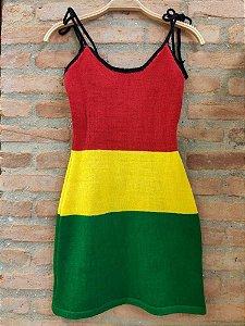 Vestido Tubinho Reggae
