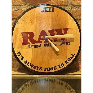 Relógio de parede RAW