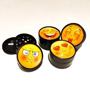 Dichavador Emoji - Metálico grande 2 fases