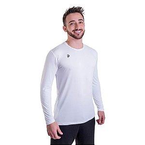 Camiseta Punnto Masculina Manga Longa Tradicional Poliamida