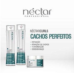 Produto para cabelos com Cachos e Ondulados - Kit Néctar Curls
