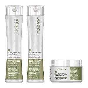 Produto para cabelos com química - Kit Néctar Bio Reestruture