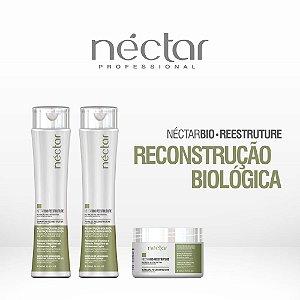 Produto para cabelos com química - Kit Néctar Bio Reestruture 300gr