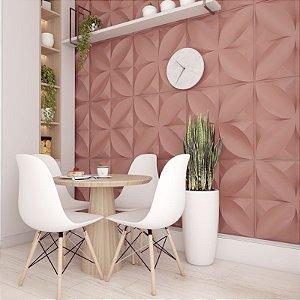 Placas decorativas 3D Poliestireno Pétalas m²