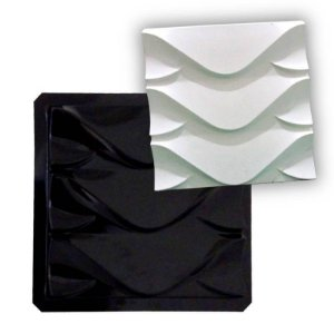 Forma ABS Black 2mm Gesso/Cimento - Dragon 38,5 x 38,5