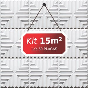 Kit 15m²  Revestimento 3D Lab