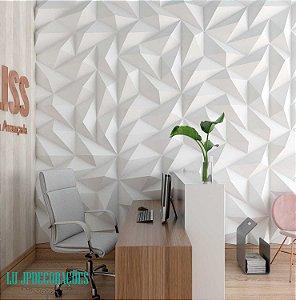 Placas decorativas 3D Poliestireno Trapezio m²