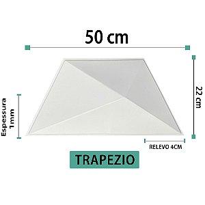 Placa decorativas 3D Poliestireno Trapézio