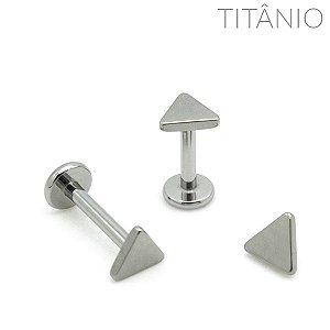 Labret Triangulo Titânio 1.6mm