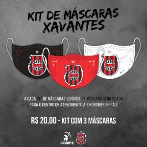 KIT DE MÁSCARAS XAVANTE