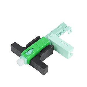 Conector de Campo SC/APC Reutilizável ONE CLICK - 10 unidades