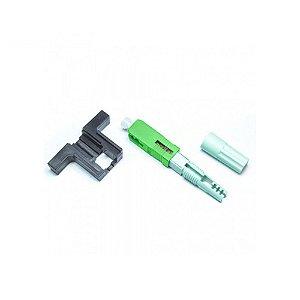 Conector Fast SC/APC (Rosca) Tipo B - 10 unidades