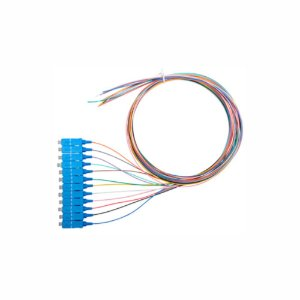 Pigtail Óptico 12 Cores SC/UPC 1,5 MTS