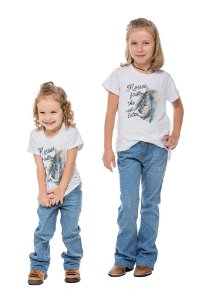T-SHIRT HORSES FIRST INFANTIL