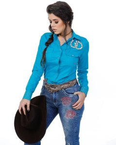 CAMISA COWGIRL