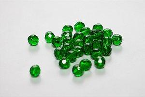Conta de Cristal Verde