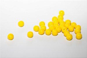 Conta de Porcelana Amarela