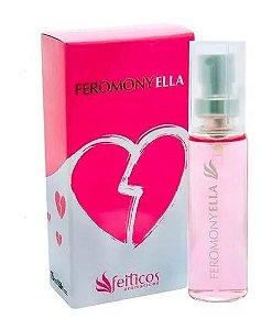 Perfume Afrodisíaco Feminino Feromony Ella - 15ml