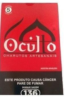 Charuto Artesanal - Oculto